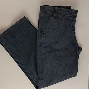 J. Crew Relax Fit Cropped Jeans